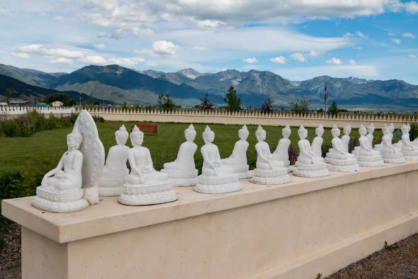 Garden of One Thousand Buddhas, Arlee, Montana