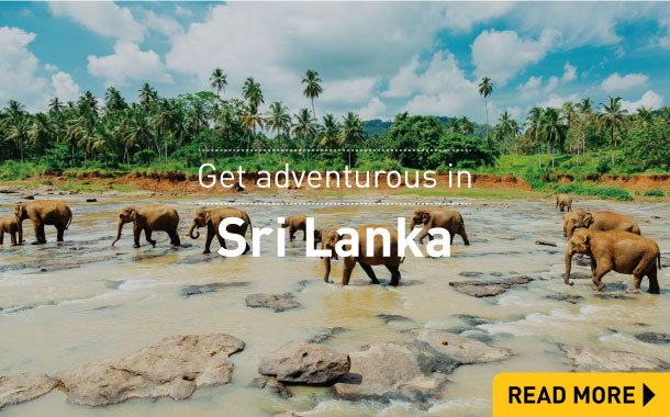 Get adventurous in Sri Lanka
