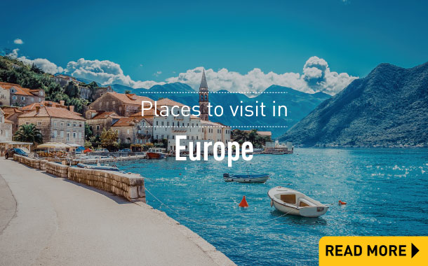 Places to visit in Europe