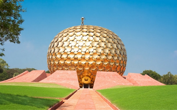Matrimandir, Auroville City of Dawn