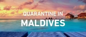 Quarantine in Maldives