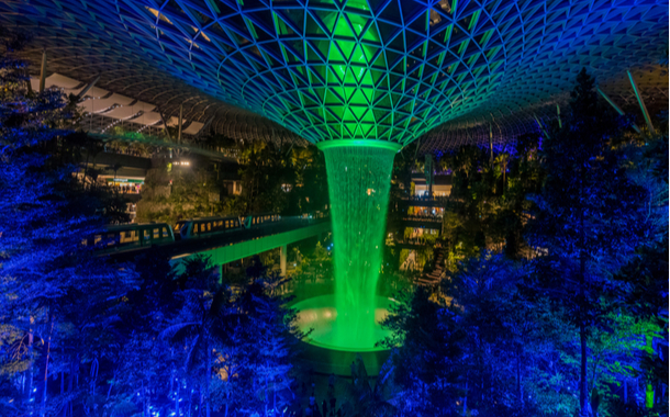 Singapore's latest attraction, The Jewel