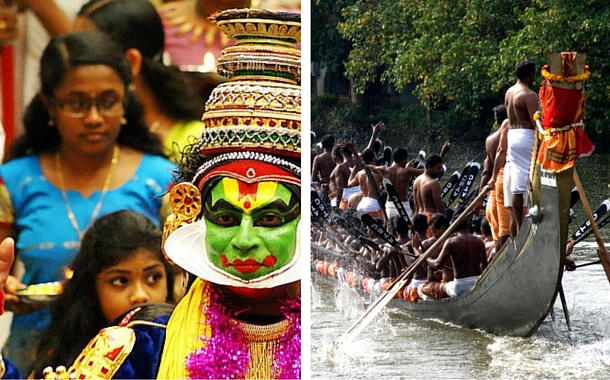 The month of snakeboat races and Oman in Kerala