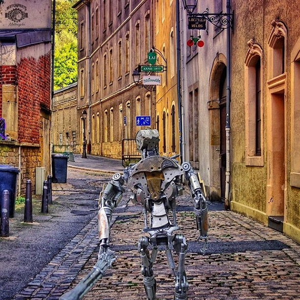 The Robots In Europe