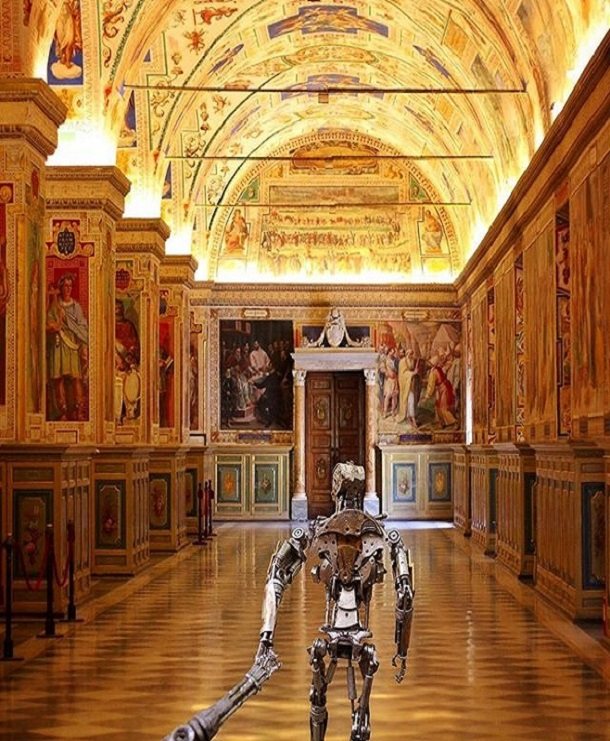 The Robots In The Vatican Museum
