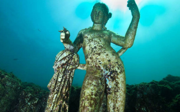 The sunken city of Baiae