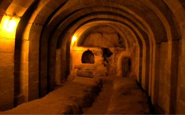 Underground city of Derinkuyu, Turkey
