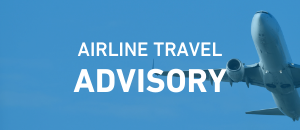 Airline Travel Advisory