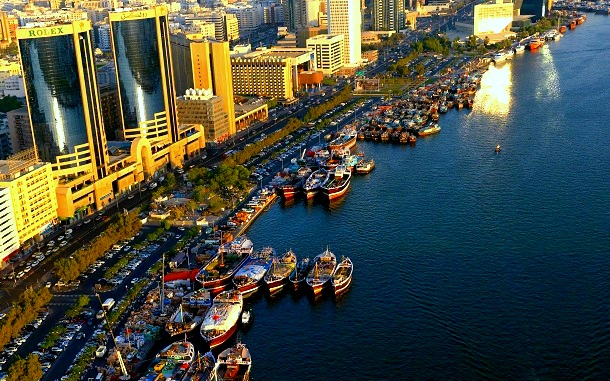 View of Dubai Creek