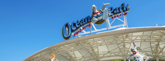 Visit to the Ocean Park