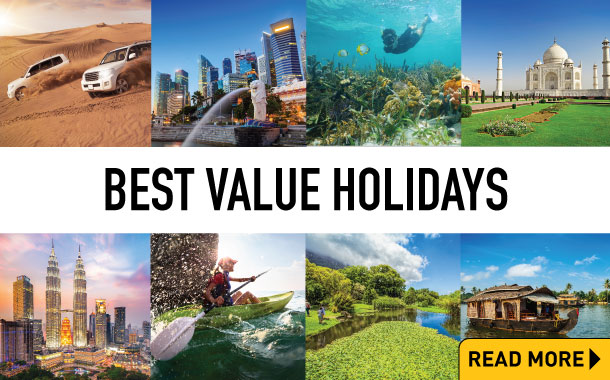 Why choose our best value holidays?