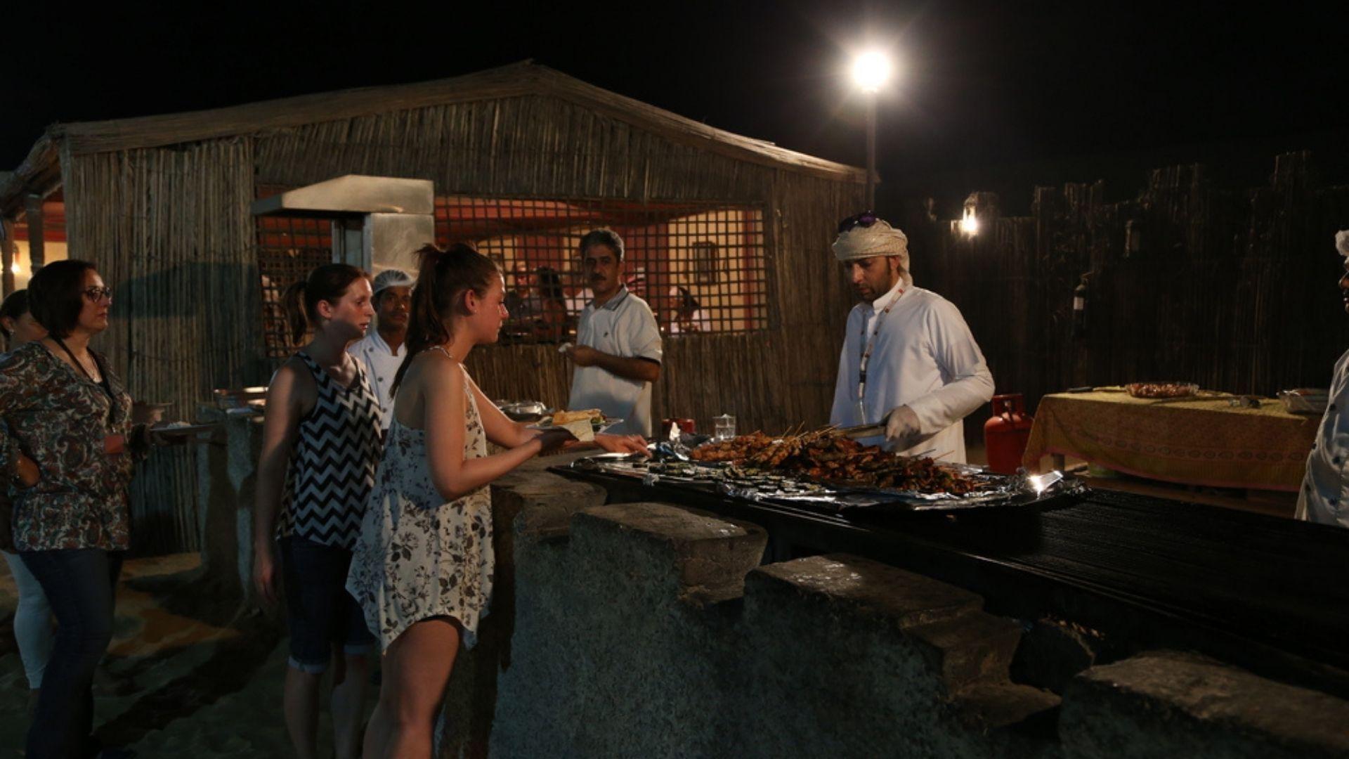 Dubai Desert Safari Food